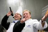 Kai Magnus Sting (l.) und Frank Schwarz rocken wieder das Ruhrorter Hafenfest. © FSGG