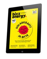 Die neue Ausgabe von bizz energy erscheint am 25.05.2016