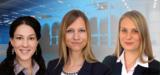 Katrin Vogelgsang, Daniela Schneider und Maria Schüler (v. l. n. r.)