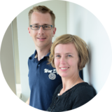 Fairwindel-Team: Dominic und Kathrin Franck