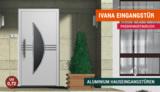 Passivhaustaugliche Aluminium Hauseingangstür