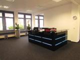 Freundlicher Empfang: Im Empfangsbereich von C&S Office Plus fühlen sich Gäste gut aufgehoben.