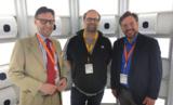 Dr. Justsus Bobke, Vorsitzender, M. Ostermeier, Beirat, Henning Finck, Beiratsvorsitzender
