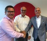 Von links n. rechts: B. Polenske (saleswerker.com), C. Fröhlich und A. Bromkamp (beide Call & Sales)