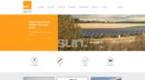 Die neue Homepage der sun.factory, erreichbar unter www.sun-factory.eu