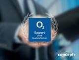 """comceptPLUS ist o2 BusinessPartner Expert und einer der ersten Systempartner """"o2 Digital Phone""""."""