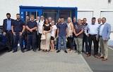 Führungskräfte und Auszubildende der All Service Sicherheitsdienste GmbH