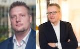 v.l.n.r.: Volker Schmidt, CEO von Akima Media, und Alexander Fink, Market Lead DACH von Clarity PR