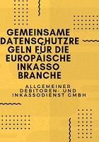 Gemeinsame Datenschutzregeln für die Europäische Inkasso Branche