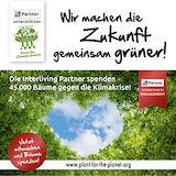 Die Interliving Partner spenden 45.000 Bäume gegen die Klimakrise.