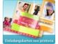 Einladungskarten selber machen bei printeria.de