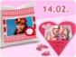 Herzige Fotogeschenke zum Valentinstag von printeria