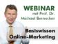 "Probe-Webinar: Zertifikatslehrgang ""Online Marketing Manager (DIM)"""