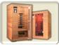Eine Wärmekabine, Infrarotkabine mit Tiefenwärme erwärmt den Körper von innen.