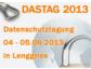 Datenschutztagung 2013 DASTAG