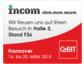 INCOM präsentiert Archivierungslösungen auf der CeBIT