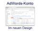 Google AdWords-Konten in neuem Design