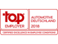 """TWT GmbH ist erneut """"Top Employer Automotive Deutschland 2018"""""""