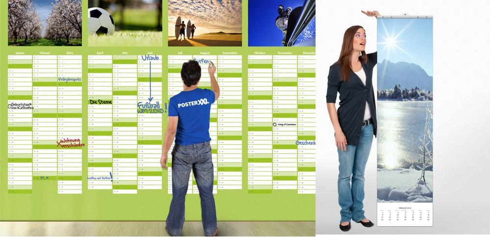 posterxxl bringt 10 quadratmeter gro en kalender der. Black Bedroom Furniture Sets. Home Design Ideas