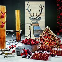 harmonischer stilmix die neuen deko weihnachtstrends. Black Bedroom Furniture Sets. Home Design Ideas