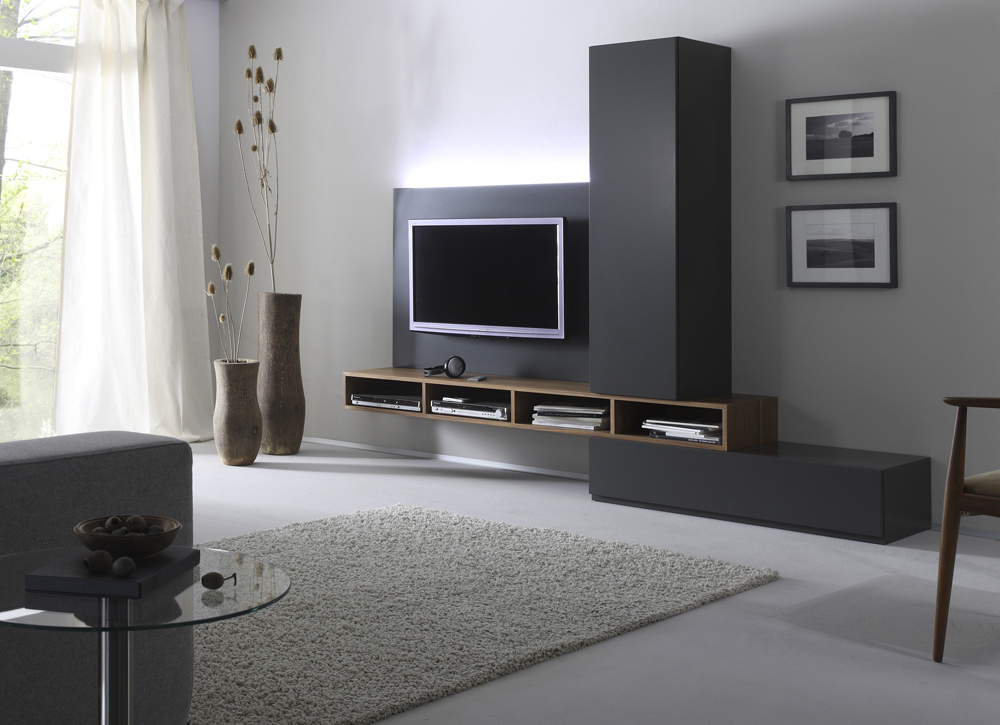 moderne tv technik trifft wohndesign pressemeldung vom. Black Bedroom Furniture Sets. Home Design Ideas