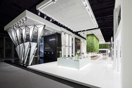 messedesign der d 39 art design gruppe f r sch co auf der bau 2013 pressemeldung vom. Black Bedroom Furniture Sets. Home Design Ideas