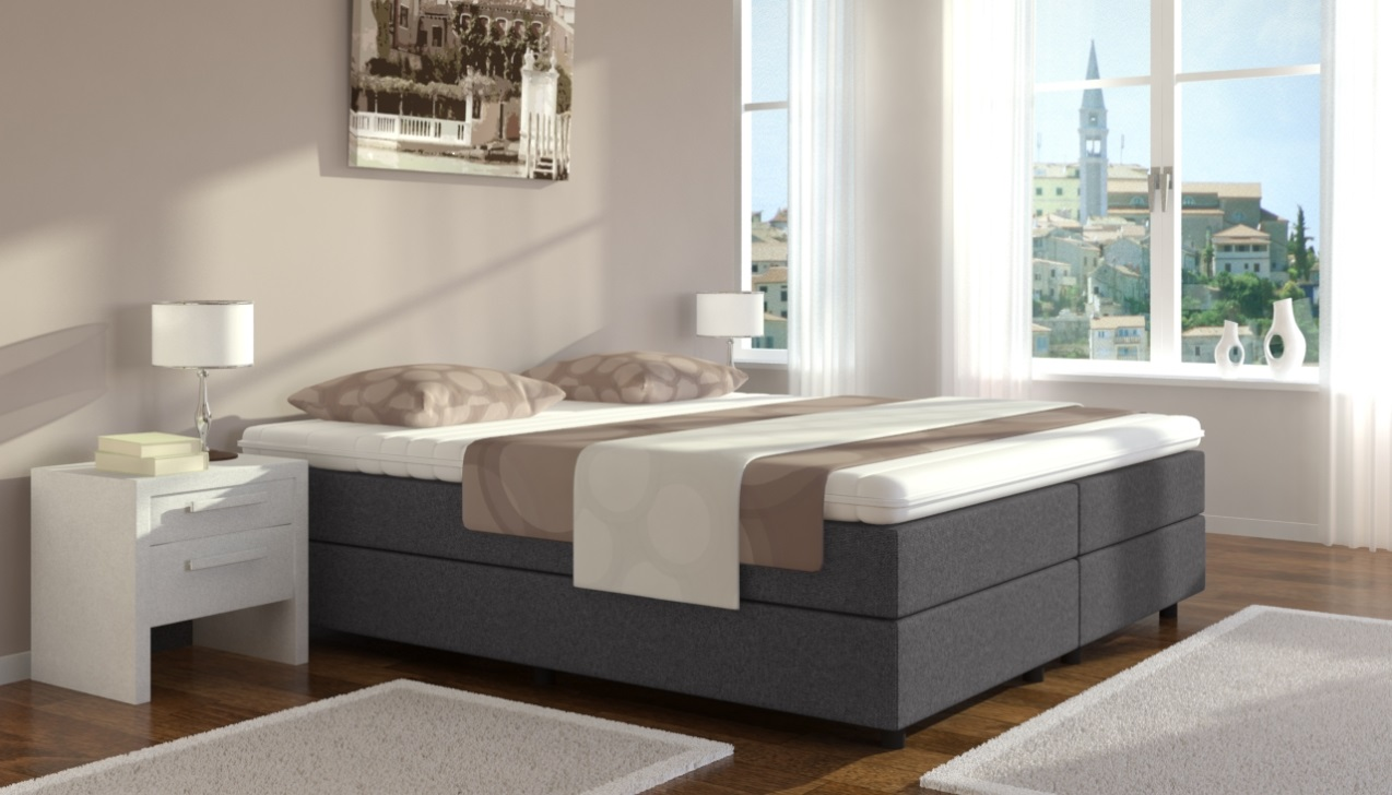 boxspring welt bietet auch boxspringbetten ohne kopfteil. Black Bedroom Furniture Sets. Home Design Ideas